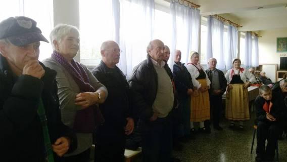 Glazbenici iz Marine pjesmom obogatili božićne blagdane korisnicima doma na Čiovu