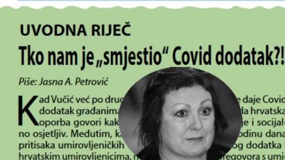 U čije ime istupa Jasna Petrović dojučerašnja predsjednica SUH-a?